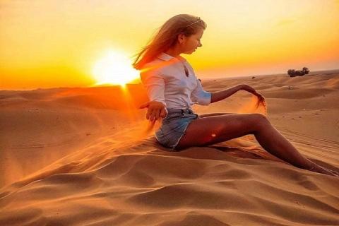 Dubai: woestijnsafari met bbq-diner en entertainment