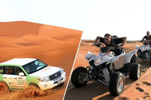Dubai: safari Red Dunes met quad, kameelrit & sandboarden