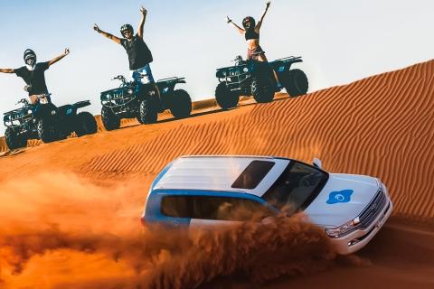 Dubai: woestijnsafari, quads, kamelenrit & Al Khayma-kamp