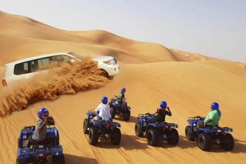 Dubai: woestijnavontuur van een halve dag met quadrijden