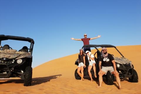 Vanuit Dubai: buggysafari door de woestijn (ochtendavontuur)