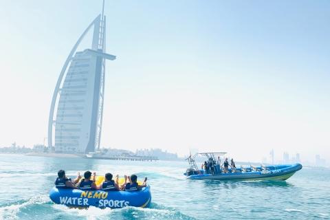 Dubai: speedboottuben rond Burj al Arab