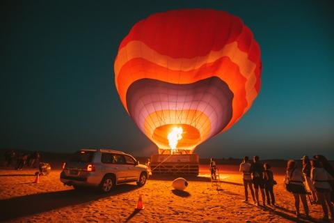 Dubai: luchtballon, kamelenrit & foto met valk