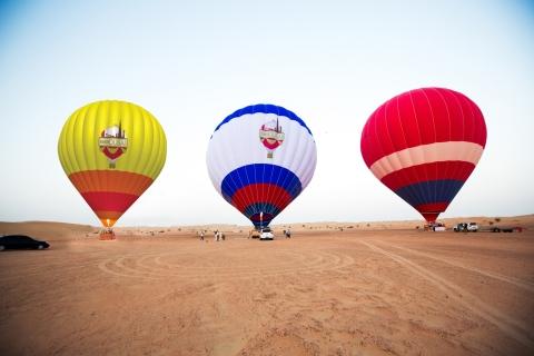 Dubai: ballonvaart over de woestijn