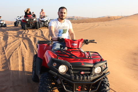 Vanuit Dubai: woestijnsafari en quad in de ochtend