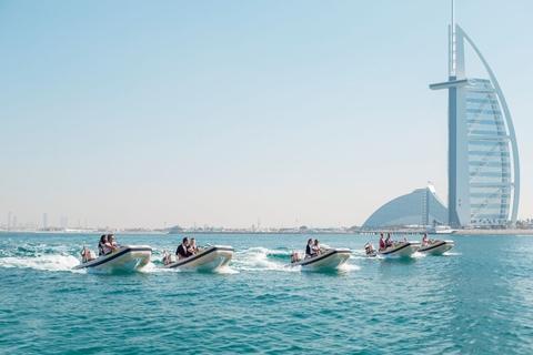 Dubai: 1,5-uur durende zelfsturende boottocht