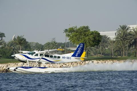 Watervliegtuig Dubai naar Abu Dhabi & privé Discovery tour