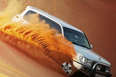 Dubai 4WD avondsafari door de woestijn