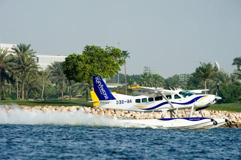 Vlucht met watervliegtuig & Ferrari World-ticket