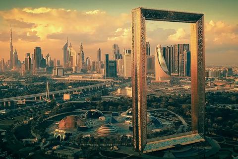 Dubai: stadstour van halve dag met tickets Dubai Frame