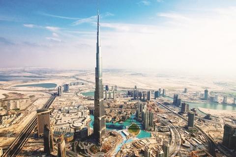 Van Abu Dhabi: Dubai dagtour met lunch
