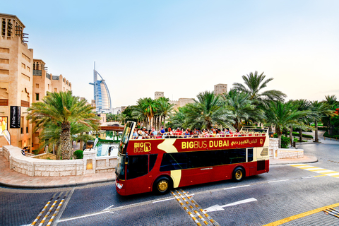 Dubai: hop on, hop off-busticket Classic, Premium of Deluxe