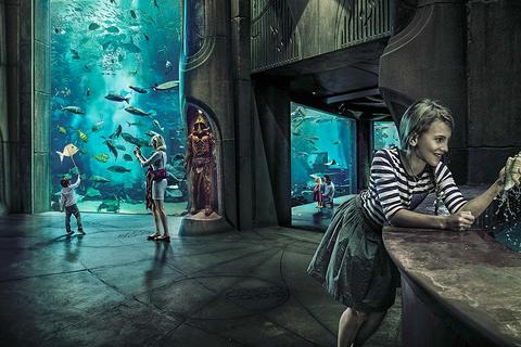 Dubai: Lost Chambers Aquarium en toegang tot Lagoon