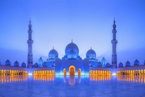 Abu Dhabi: stadsrondleiding met 1 uur durende tocht op jacht