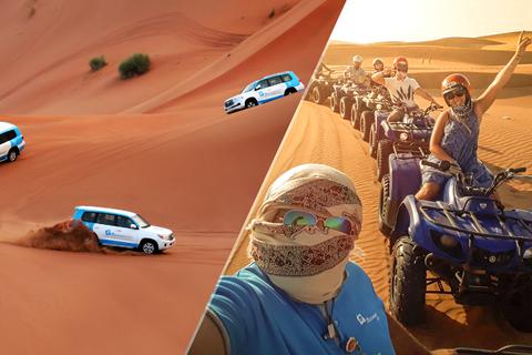 Dubai safari: duinenrit, quads, kamelen & eten Al Khayma