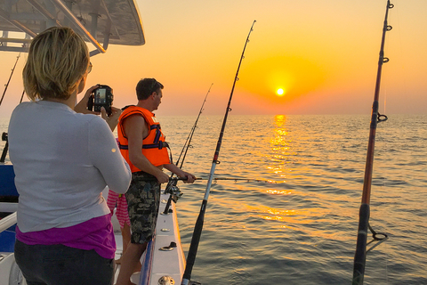 Dubai: privéhandvest voor diepzeevissen