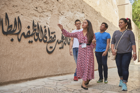 Dubai: Private Old Town, Heritage & Souks Walking Tour