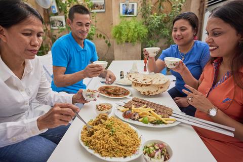 Dubai: Etenstour met Emirati-keuken met diner