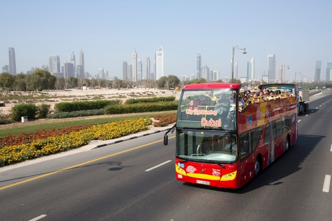 Dubai: 72 uur ticket hop on, hop off-bustour