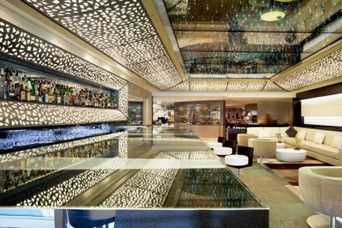 Burj Al Arab: drankjes in de Junsui Lounge