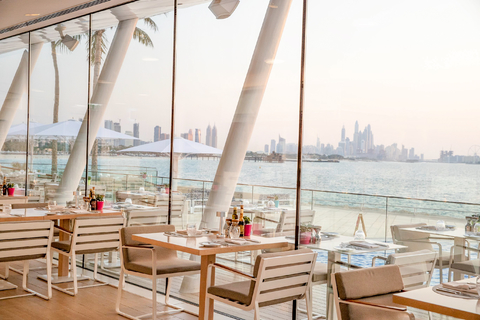 Burj Al Arab: lunch of diner bij de Bab Al Yam
