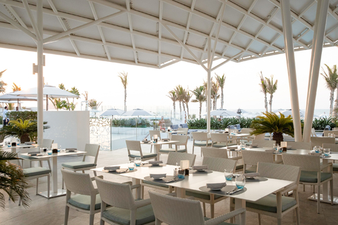 Burj al Arab: Franse, mediterrane lunch of diner in Scape
