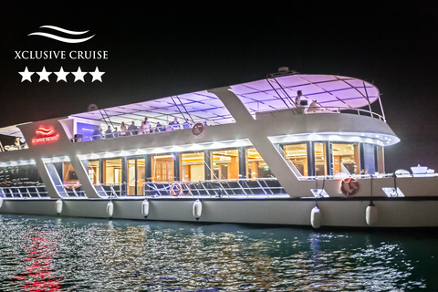 Dubai: luxe dinercruise door Dubai Marina