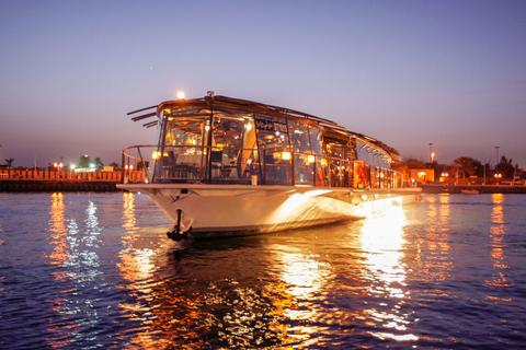 Dubai: luxe boottocht Dubai Creek met viergangendiner