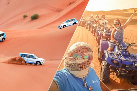 Dubai: woestijnsafari, quads, kamelenrit & Al Khaymakamp