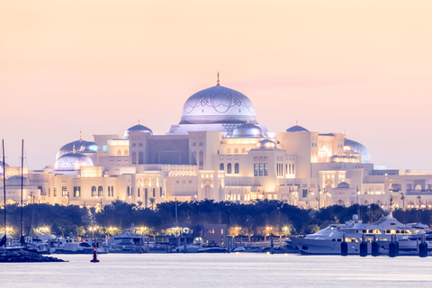 Van Dubai: Abu Dhabi Mosque, Qasr Al Watan & Etihad Towers