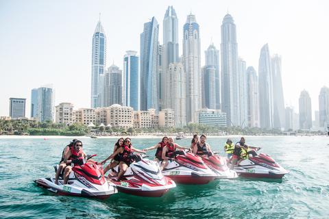 Dubai: jetski tour, inclusief Burj Khalifa & Dubai Marina