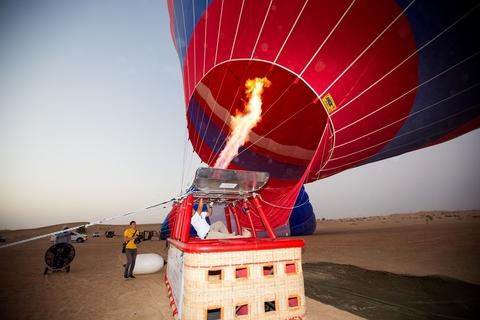 Dubai: Luchtballon, Desert Safari, Quad Biking en meer