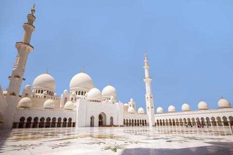 Abu Dhabi: stadstour van halve dag met vertrekopties