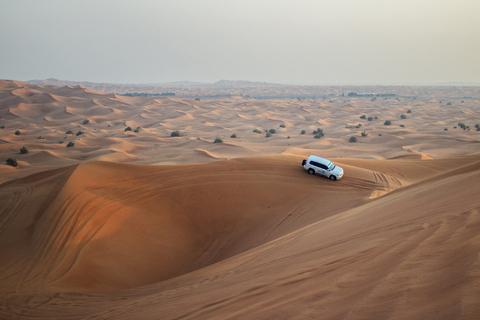 Dubai: woestijnsafari in de ochtend