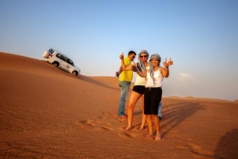 Dubai stadspanorama en woestijnsafari dagvullende excursie