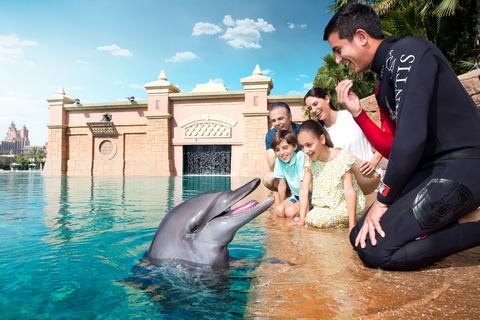 Dubai: fotoplezier dolfijnen en zeeleeuw Atlantis