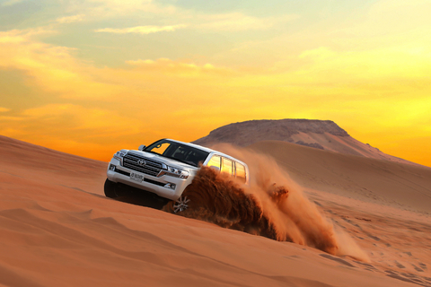 Dubai: Desert Safari Photography Session, Camel Ride, & BBQ