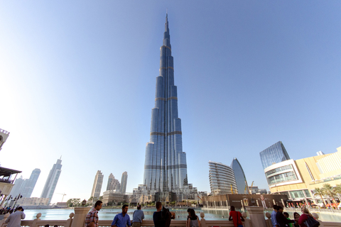 Burj Khalifa: entreetickets & hoteltransfer