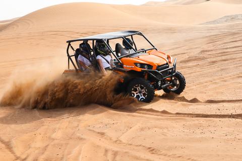 Dubai: zelf met buggy rijden en kamelenrit