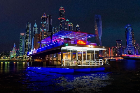 Dubai: dinercruise door de Dubai Marina