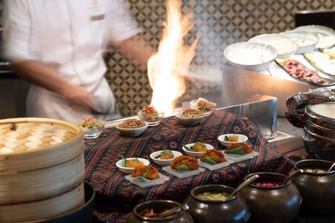Burj Al Arab: Oost-Aziatische keuken in Junsui Restaurant
