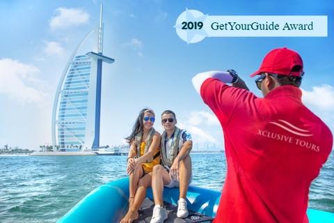 Dubai: met speedboot naar Marina, Atlantis & Burj Al Arab