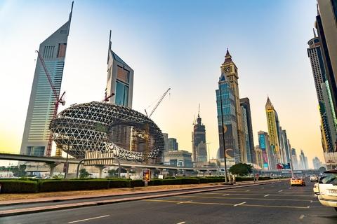 Dubai: tour van halve dag door moderne stad