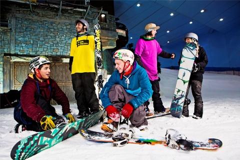 Ski Dubai: pistetoegang voor 2 uur