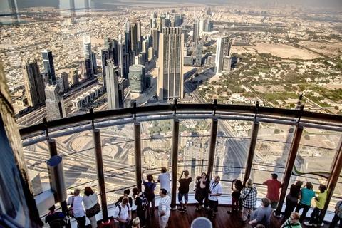 Burj Khalifa tour & tickets: 124e, 125e & 148e verdieping