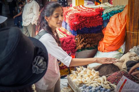 Dubai: Souks, Boat Ride en Walking Food Tour