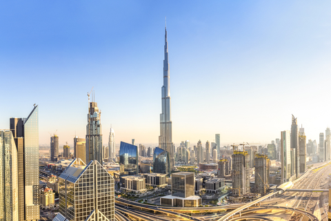 Dubai Icons: Burj Khalifa, Marina Cruise en Diner