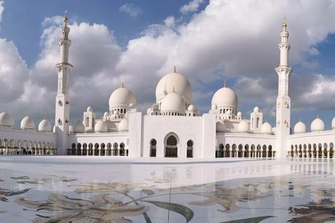 Vanuit Abu Dhabi: kleine groepstour van een dag met lunch