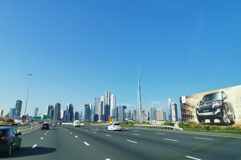 Dubai: tour van 4 uur met tickets voor Burj Khalifa
