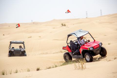 Dubai: op safari met een dune buggy